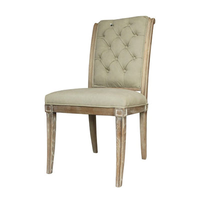 Libra Homestead Grey Button Back Dining Chair