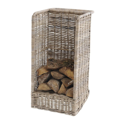Libra Toba Rattan Log Basket
