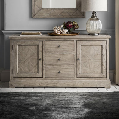 Hudson Living Mustique 2 Door, 3 Drawer Sideboard-GalleryDirect-Olivia's