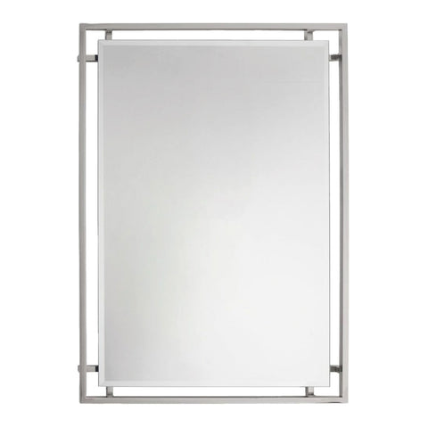 RV Astley Hurricane Mirror Nickel Finish
