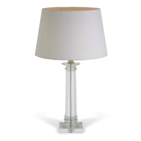 RV Astley Delanna Crystal Tall Column Lamp Base