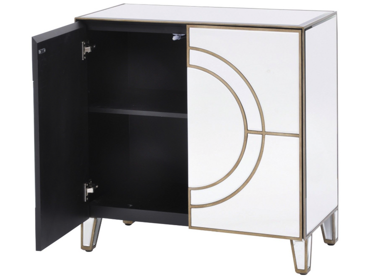 Libra Claridge Circle Link 2 Door Cabinet