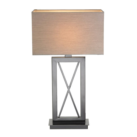 RV Astley Cross Black Nickel Table Lamp