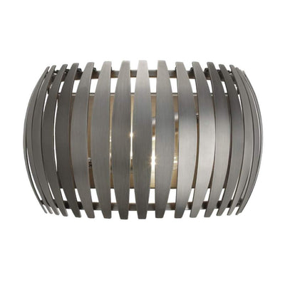 Dean, gunmetal wall lamp