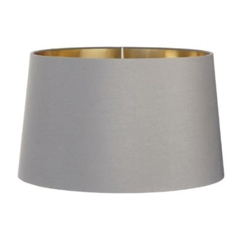 RV Astley Grey Shade With Gold Lining 34cm