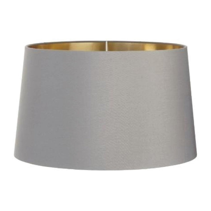 RV Astley Grey Shade With Gold Lining 40cm-RVAstley-Olivia's