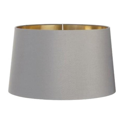 RV Astley Grey Shade With Gold Lining 40cm