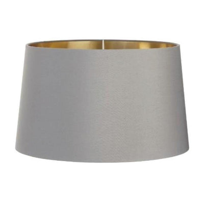 RV Astley Grey Shade With Gold Lining 48cm