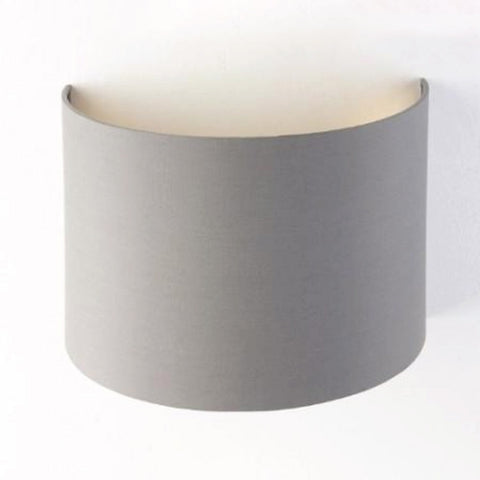 RV Astley Grey Wall Shade With Gold Lining (5854)