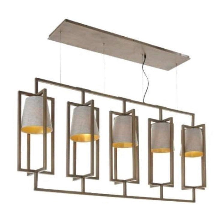 RV Astley Hurricane Finish Long Chandelier-RVAstley-Olivia's