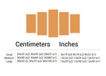 muslim wall art sizes