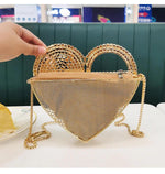 Heart In Your Hand Clutch/Shoulder Bag