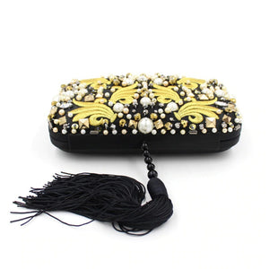Black Yellow Clutch