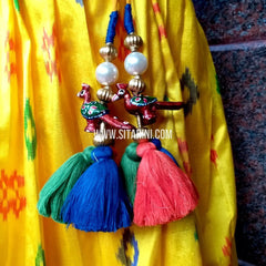 Handmade Tassels / Latkans for Blouse - Set of 2 - Sitarini - TAS104