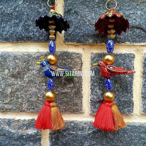 Handmade Tassels / Latkans for Lehenga - Set of 2 - Sitarini - TAS108
