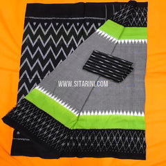 Ikat Cotton Saree-Multicolor-Sitarini-SITICS283