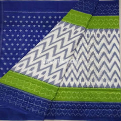 Ikkat Cotton saree-Multicolor-Sitarini-SITICS208