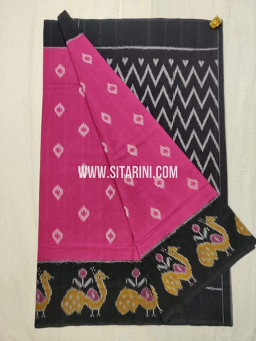 Ikkat Cotton Saree-Sitarini-SITICS473