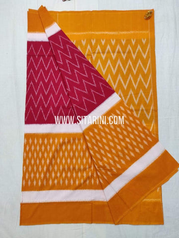 Ikkat Cotton Saree-Sitarini-SITICS479