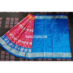 Ikkat Pattu Lehenga-3 to 8 years old-Sitarini-PRHIPL175