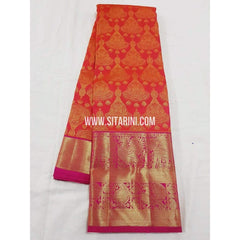Kanchipuram Saree-Pattu-Multicolor-Sitarini-SITKSS131