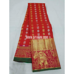 Kanchipuram Saree-Pattu-Multicolor-Sitarini-SITKSS155