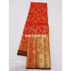 Kanchipuram Saree-Pattu-Red-Sitarini-SITKSS110