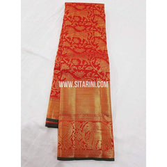 Kanchipuram Saree-Pattu-Red-Sitarini-SITKSS118