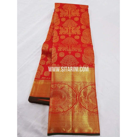 Kanchipuram Saree-Pattu-Red-Sitarini-SITKSS119
