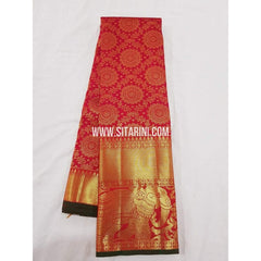 Kanchipuram Saree-Pattu-Red-Sitarini-SITKSS134