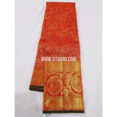 Kanchipuram Saree-Pattu-Red-Sitarini-SITKSS139