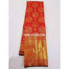 Kanchipuram Saree-Pattu-Red-Sitarini-SITKSS147
