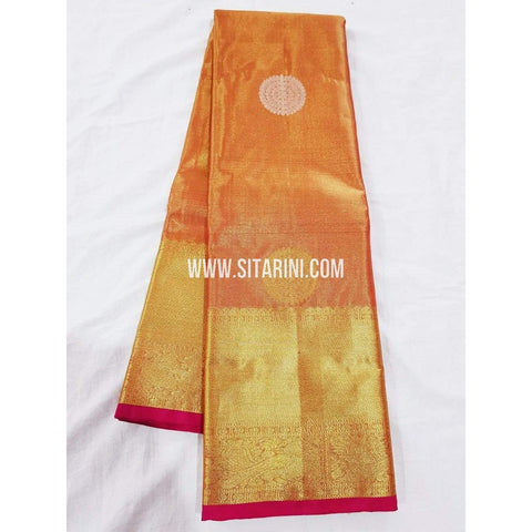 Kanchipuram Silk Saree-Multicolor-Sitarini-SITKSS195