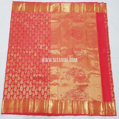 Kanchipuram Silk Saree-Multicolor-Sitarini-SITKSS243