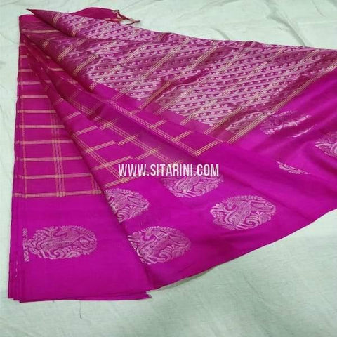Kuppadam Silk Saree-Purple-Sitarini-SITKUS671