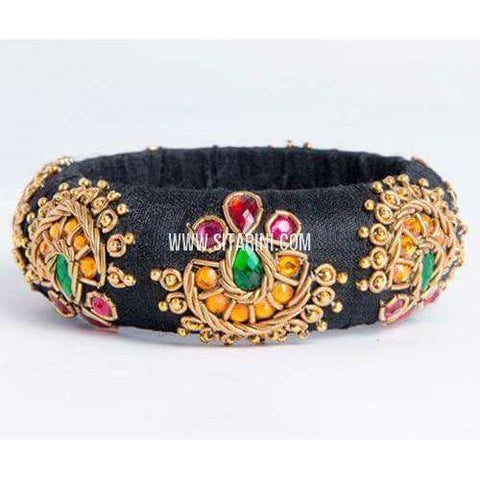Maggam Work Bangles-Broad-One Piece-Sitarini