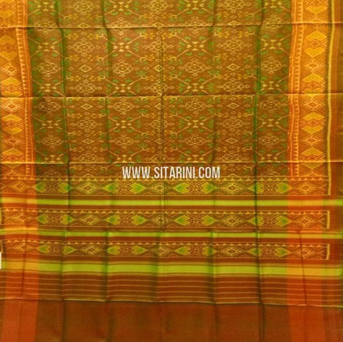 Patola Saree-Single Ikat-Silk-Sitarini-SITRPS342