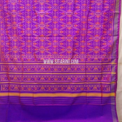 Patola Saree-Single Ikat-Silk-Sitarini-SITRPS350
