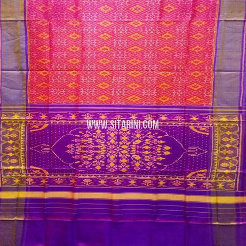 Patola Silk Saree-Single Ikat-Sitarini-SITRPS346