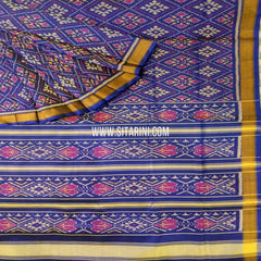 Patola Silk Saree-Single Ikkat-Multicolor-Sitarini-SITRPS264