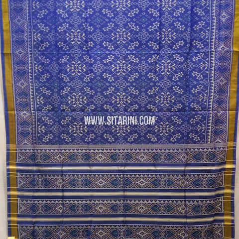 Patola Silk Saree-Single Ikkat-Multicolor-Sitarini-SITRPS268