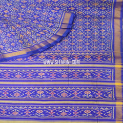 Patola Silk Saree-Single Ikkat-Multicolor-Sitarini-SITRPS269