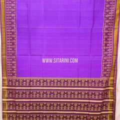 Patola Silk Saree-Single Ikkat-Multicolor-Sitarini-SITRPS274