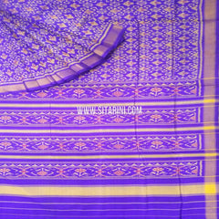 Patola Silk Saree-Single Ikkat-Multicolor-Sitarini-SITRPS277