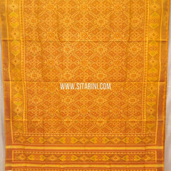 Patola Silk Saree-Single Ikkat-Multicolor-Sitarini-SITRPS278