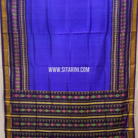 Patola Silk Saree-Single Ikkat-Multicolor-Sitarini-SITRPS280