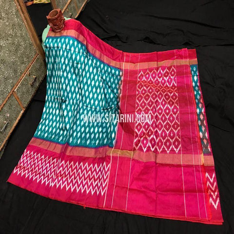 Pochampally Ikkat Pattu Light Weight Saree-Sitarini-SITIPS1000