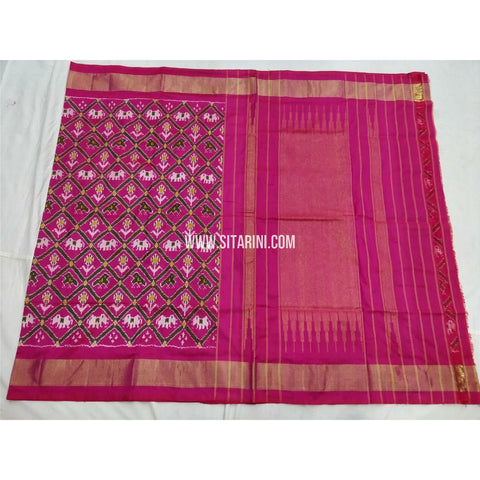 Pochampally Saree-Silk-Magenta-Sitarini-PSHIPS284