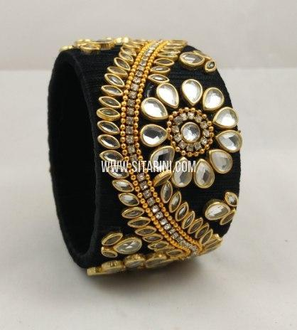 Silk Thread Bangle-Sitarini-SITSTB216