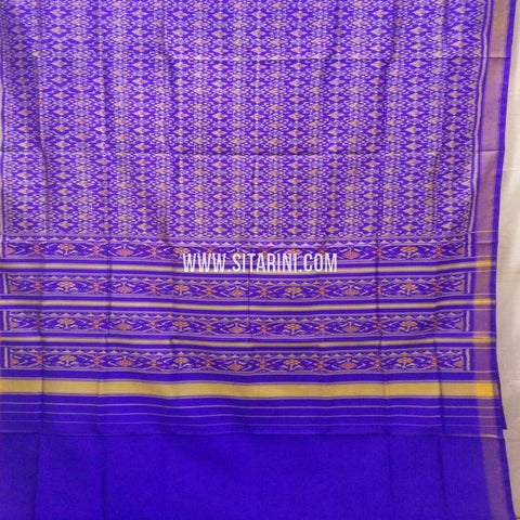 Single Ikat Patola Saree-Silk-Sitarini-SITRPS352